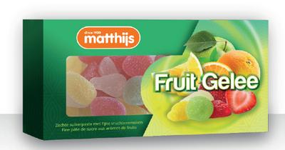 Matthijs Fruit Gelee 200 gram