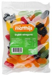 English Winegum 400 gram